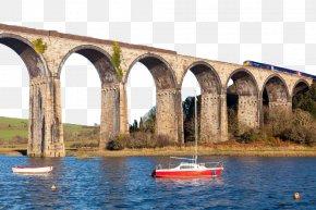 Cross River Bridge - St Germans Railway Station River Lynher River Tiddy St Germans, Cornwall Rail Transport PNG