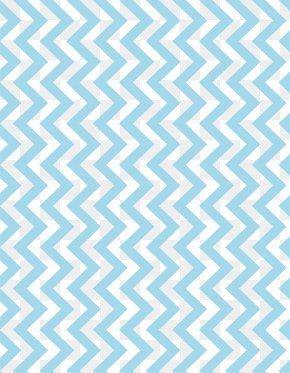 Sky Blue Sawtooth Pattern - Coffee Carpet Tile Tufting Pile PNG