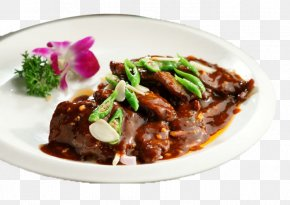 Black Pepper Rib - Mongolian Beef Beefsteak Mole Sauce Hot And Sour Soup Ribs PNG