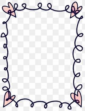 Picture Frame Black Picture Frame - Black Background Frame PNG