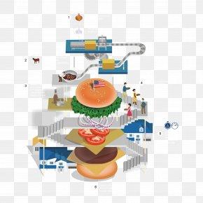 Vector Burger Creative - Hamburger Steak Burger Chicken Sandwich Burger King PNG