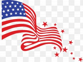 Transparent USA Flag Clipart Picture - Independence Day Clip Art PNG