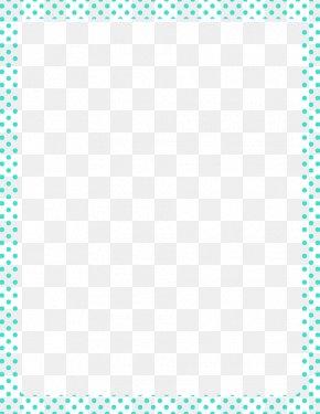 Aqua Border Frame Clipart - Cancer Support Group PNG