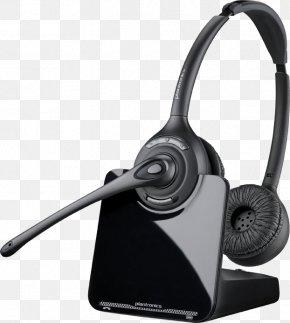 Avaya Wireless Headset - Plantronics CS520-XD Xbox 360 Wireless Headset Digital Enhanced Cordless Telecommunications PNG