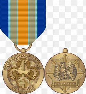 Medal - United States Department Of Defense Operation Inherent Resolve Inherent Resolve Campaign Medal PNG