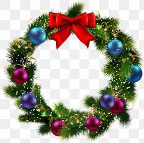 Garland - Christmas Graphics Wreath Christmas Day Clip Art Christmas PNG