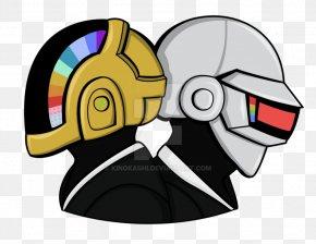 Daft Punk - DeviantArt Daft Punk Fan Art PNG