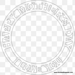 Mother's Day - Mother's Day Mandala Coloring Book PNG
