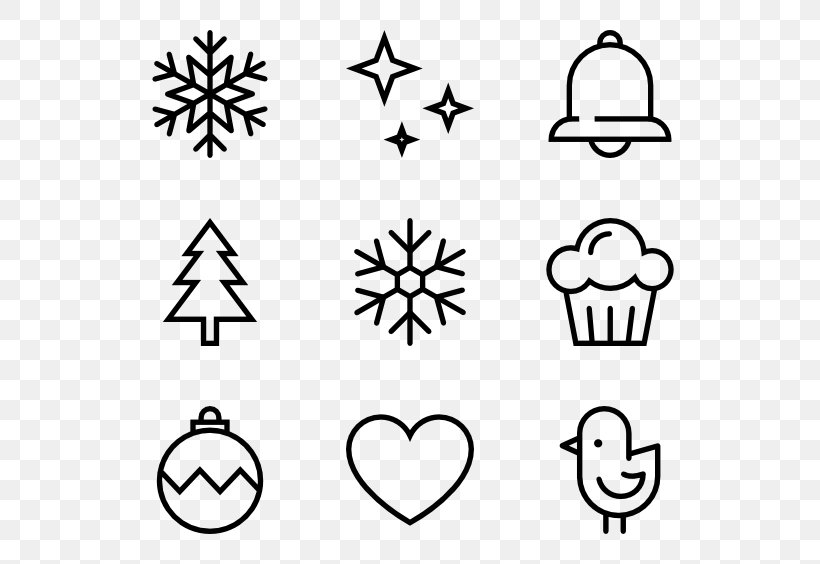 Icon Design Clip Art, PNG, 600x564px, Icon Design, Area, Black And White, Christmas Gift, Game Download Free