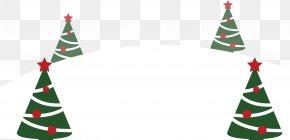 Cartoon Christmas Tree - Christmas Tree Christmas Ornament Fir Spruce PNG