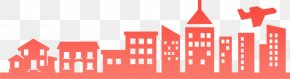 Silhouette Of City Building - MagicBricks Real Estate Renting House Apartment PNG