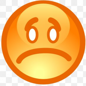 Sad Smiley - Emoticon Smiley Icon PNG