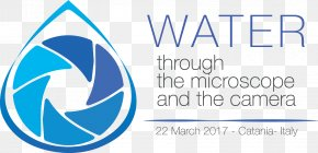 World Water Day - Microb&Co World Water Day Microscope Logo PNG