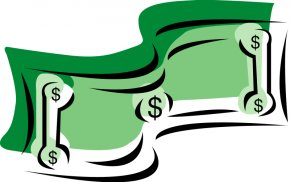 100 Dollar Bill Cliparts - Money Dollar Sign Currency Symbol Clip Art PNG