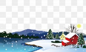 Winter Night - Winter Snow Euclidean Vector PNG