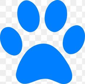 Blues Clues - Dog Paw Cat Bear Clip Art PNG