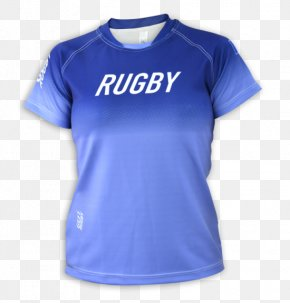 T-shirt - T-shirt Sleeve Sports Fan Jersey Rugby PNG