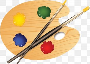 Painting - Palette Painting Art Drawing Clip Art PNG