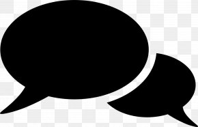 Speech Bubbles - Conversation Speech Balloon Clip Art PNG