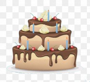 Chocolate Layer Cake - Egg Tart Layer Cake Chocolate Cake Cupcake PNG