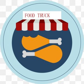 Hand-painted Food Truck Stickers Image - Food Truck Car Sticker PNG
