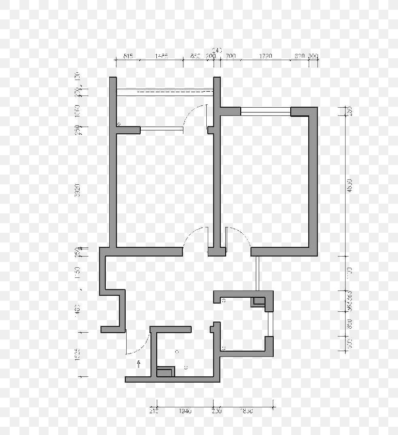 Interior Design Services Floor Plan Room, PNG, 751x897px, Interior Design Services, Area, Black And White, Building, Computeraided Design Download Free