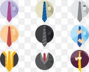 Vector Icon Tie - Necktie Suit Icon PNG