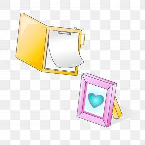 Vector Folder Frame - Directory Download Computer File PNG
