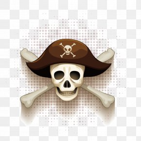 Vector Pirate Skeleton - Piracy Royalty-free Illustration PNG
