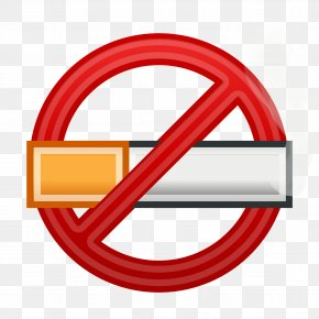 No Smoking - Smoking Ban Tobacco Smoking Clip Art PNG