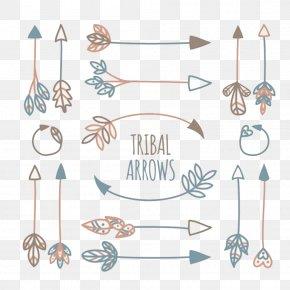 Tribal Arrow Element - Tribe Arrow Euclidean Vector Icon PNG