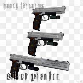 Hand Gun - Firearm Weapon Trigger Handgun Pistol PNG