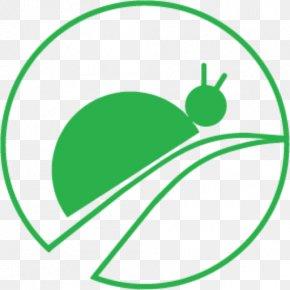 Plant Logo - Green Leaf Line Circle Logo PNG
