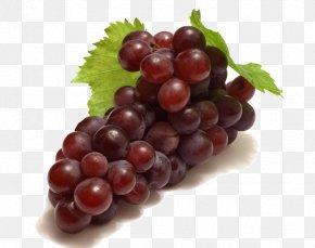 A Bunch Of Grapes - Red Wine Juice Grape Frutti Di Bosco PNG