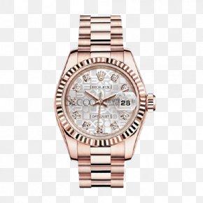 Ms. Mechanical Watches Rolex Silver - Rolex Datejust Counterfeit Watch Replica PNG