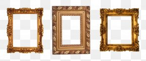 Gold Frame - Window Picture Frames Photography Decorative Arts PNG