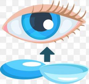 Eye Contact Lenses - Eye Contact Lens Clip Art PNG
