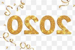 Metal Symbol - Happy New Year 2020 Happy 2020 2020 PNG