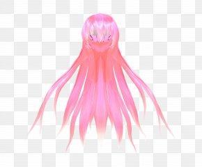 Long Hair - Long Hair MikuMikuDance Download Wig PNG