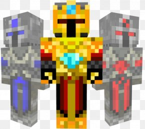 Gold Shading - Minecraft: Pocket Edition Skin Armour Mod PNG