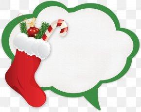 Christmas - Christmas Stockings Gift Santa Claus Clip Art PNG