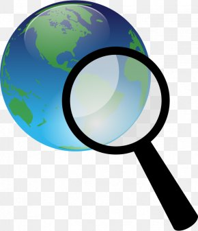 Earth Science Clipart - Magnifying Glass Web Search Engine Clip Art PNG