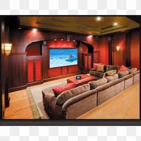 Design - Home Theater Systems Cinema Interior Design Services Room PNG