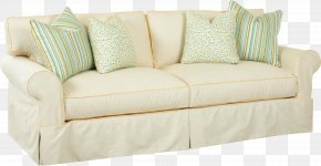 White Sofa Image - Couch Cushion Upholstery Furniture Loveseat PNG