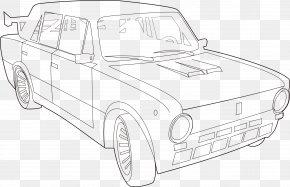 Auto Rickshaw - Car Lada Coloring Book Clip Art PNG