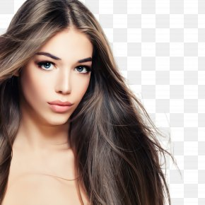 Brown Hair Beauty - Hair Face Eyebrow Hairstyle Skin PNG