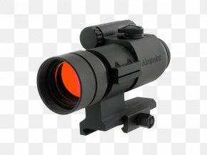 Weapon - Red Dot Sight Aimpoint AB Reflector Sight Optics PNG