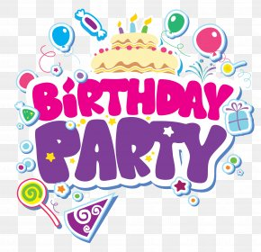 Birthday Party Clipart Picture - The Birthday Party Loveland Living Planet Aquarium Child PNG
