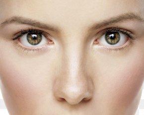 Woman Face - Eye Color Periorbital Dark Circles Periorbital Puffiness Raccoon Eyes PNG