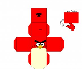 Paper Craft - Angry Birds Star Wars Paper Model Paper Toys PNG